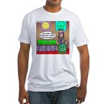 Hippie Funeral Fitted T-Shirt