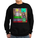 Hippie Funeral Sweatshirt (dark)