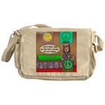 Hippie Funeral Messenger Bag