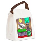 Hippie Funeral Canvas Lunch Bag