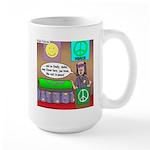 Hippie Funeral Large Mug