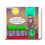 Hippie Funeral Mousepad