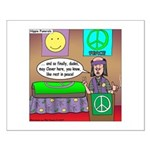 Hippie Funeral Small Poster