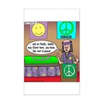 Hippie Funeral Mini Poster Print