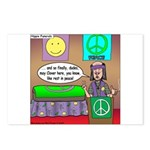 Hippie Funeral Postcards (Package of 8)