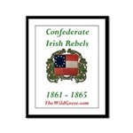 Confederate Irish Framed Panel Print