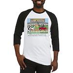 Cow Races Baseball Jersey