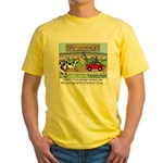 Cow Races Yellow T-Shirt