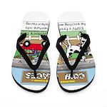 Cow Races Flip Flops