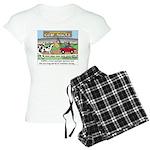Cow Races Women's Light Pajamas