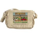 Cow Races Messenger Bag