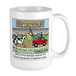 Cow Races Large Mug