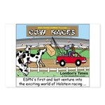 Cow Races Postcards (Package of 8)