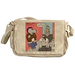 Hippo Crypts Messenger Bag