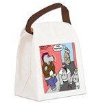 Hippo Crypts Canvas Lunch Bag
