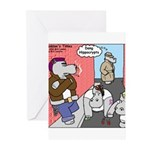 Hippo Crypts Greeting Cards (Pk of 10)