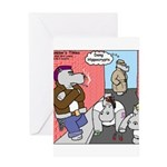 Hippo Crypts Greeting Card