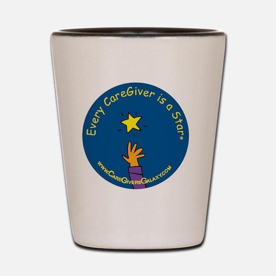 caregiver logo copy-3 Shot Glass