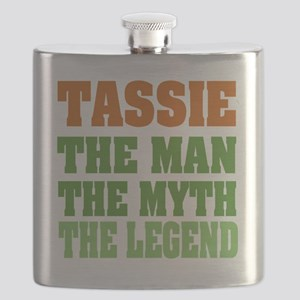 Tassie The Legend Flask