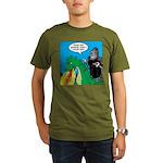 Godzilla Breath Mint Organic Men's T-Shirt (dark)