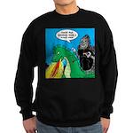 Godzilla Breath Mint Sweatshirt (dark)