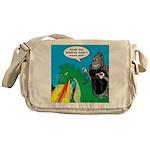 Godzilla Breath Mint Messenger Bag