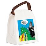 Godzilla Breath Mint Canvas Lunch Bag