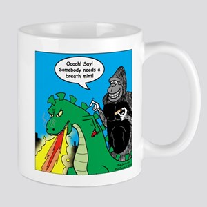 Godzilla Breath Mint Mug