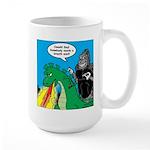 Godzilla Breath Mint Large Mug