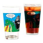 Godzilla Breath Mint Drinking Glass
