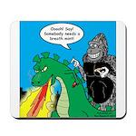 Godzilla Breath Mint Mousepad