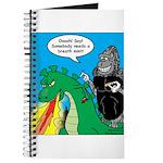 Godzilla Breath Mint Journal