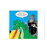 Godzilla Breath Mint Postcards (Package of 8)