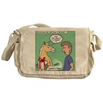 Gift Horse Messenger Bag