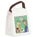Gift Horse Canvas Lunch Bag