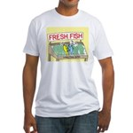 Fresh Fish Fitted T-Shirt