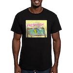 Fresh Fish Men's Fitted T-Shirt (dark)