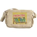 Fresh Fish Messenger Bag