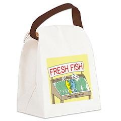 Fresh Fish Canvas Lunch Bag