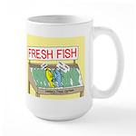 Fresh Fish Large Mug