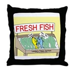 Fresh Fish Throw Pillow
