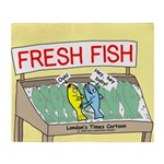 Fresh Fish Throw Blanket