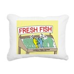 Fresh Fish Rectangular Canvas Pillow