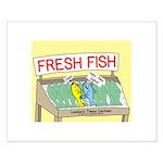 Fresh Fish Small Poster