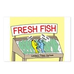 Fresh Fish Postcards (Package of 8)