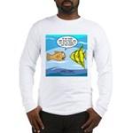 Fish Brain Food Long Sleeve T-Shirt
