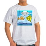 Fish Brain Food Light T-Shirt