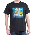 Fish Brain Food Dark T-Shirt