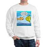 Fish Brain Food Sweatshirt