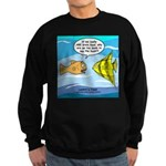 Fish Brain Food Sweatshirt (dark)